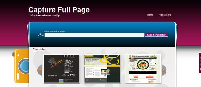 скриншот всего сайта