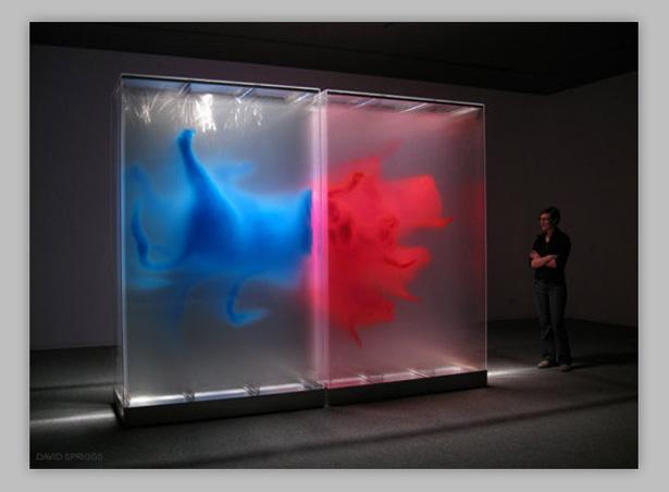 трехмерные рисунки на стеклах