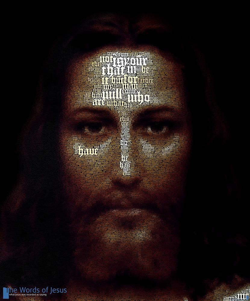 текстовый портрет Христа