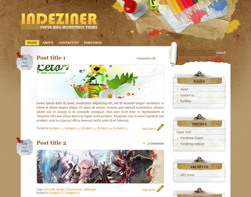 free-wordpress-theme-colour