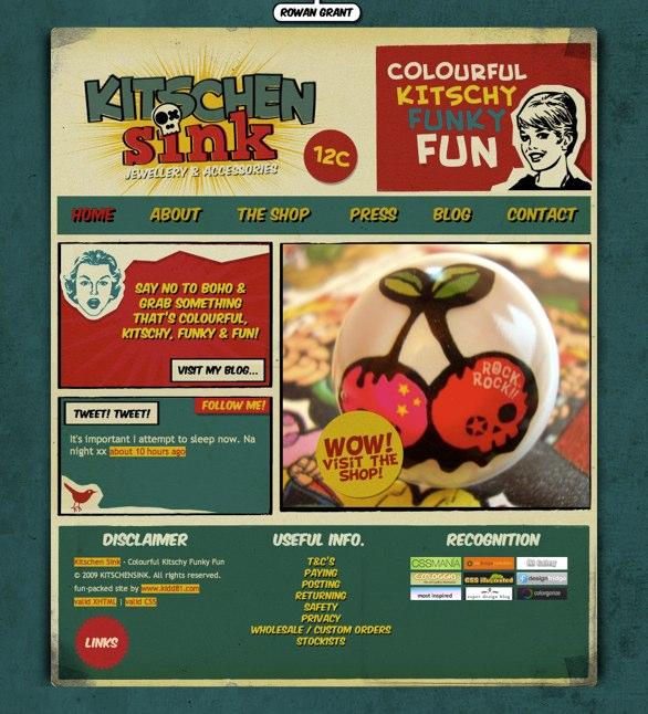 poster-site design