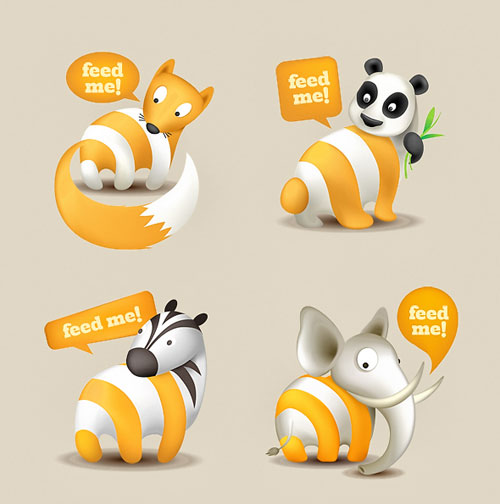 animals free rss icons