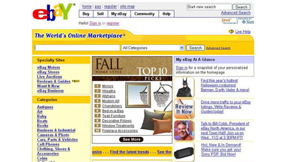 ebay old design