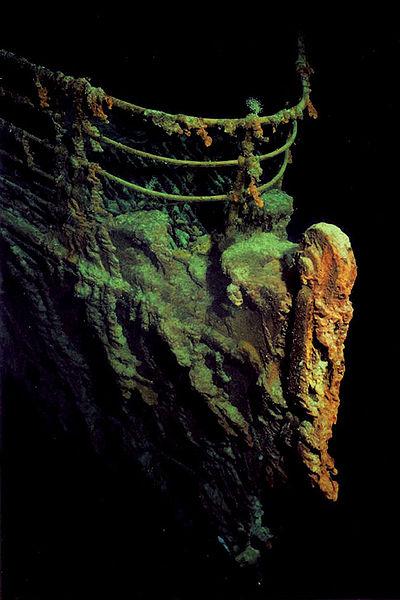 титаник - подводная сьемка